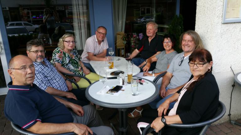 Stammtisch der SPD Traunreut Juni 19
