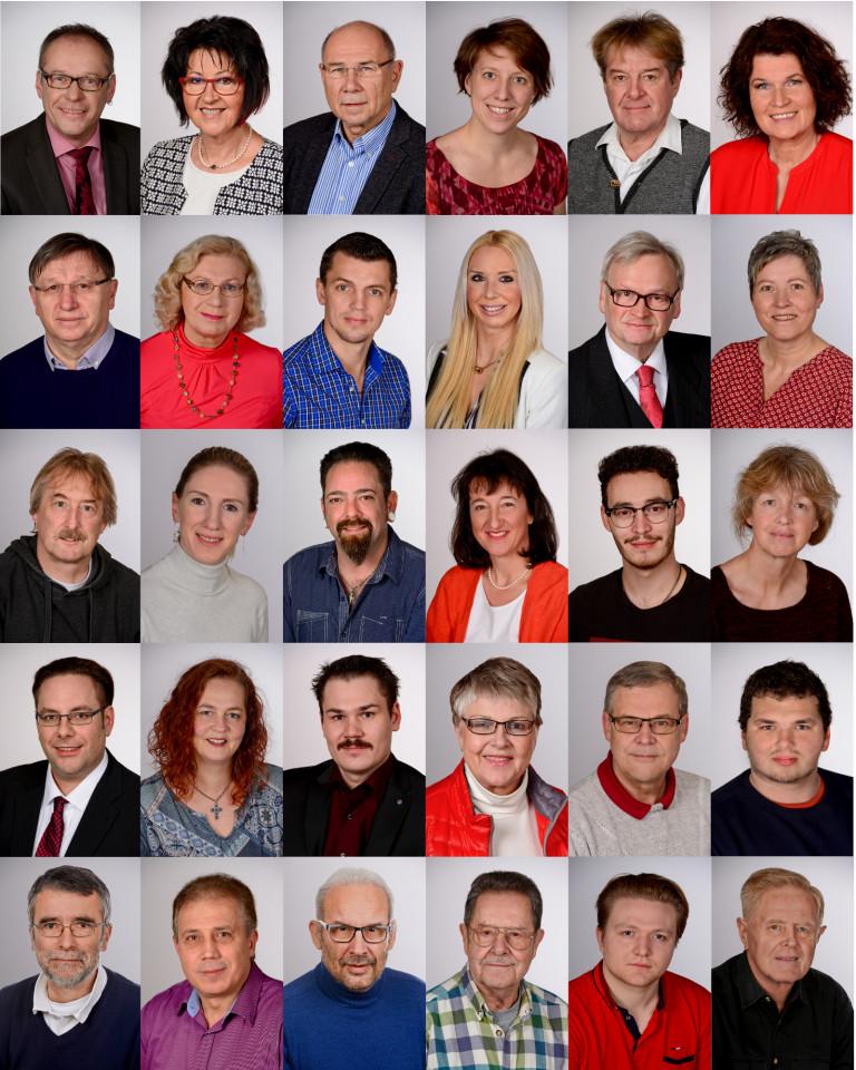 Traunreuter Kandidaten für die Kommunalwahl 2020